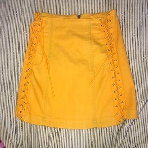 Carmar LA lace up skirt